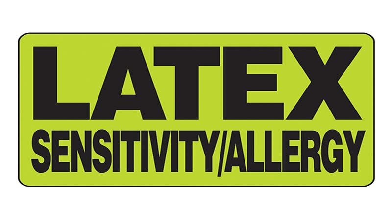 حساسیت به لاتکس